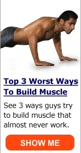 1 weird tip for gaining muscle fast