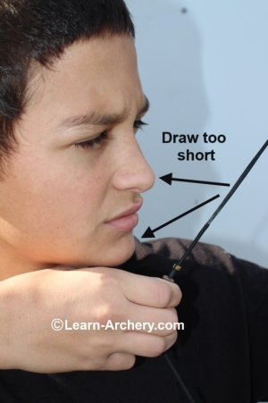 Draw too short