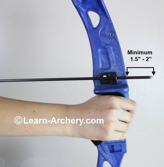 Safe arrow length for beginners